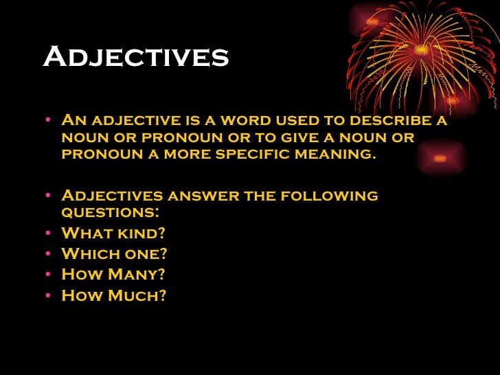 adjectives that start with w to describe a person adjectives vs adverbs 20048