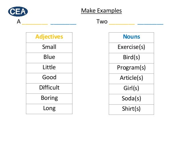 English Order of Adjectives | ESL / EFL Teaching | English ...