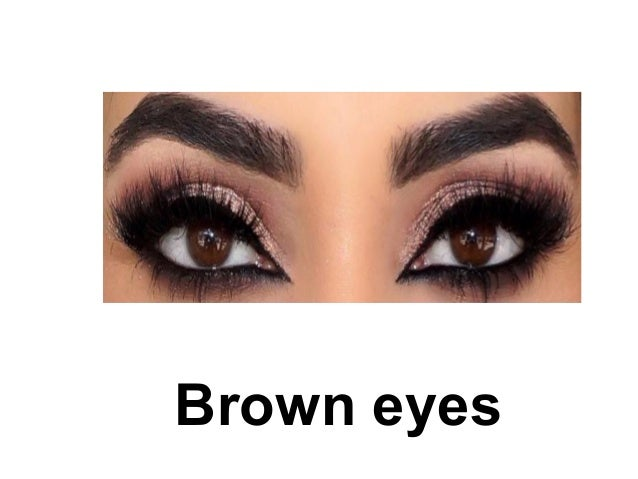 Adjectives to describe brown eyes