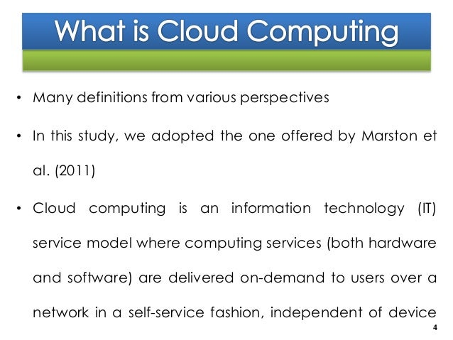 Application of Mobile Computing In Tertiary Institutions ...