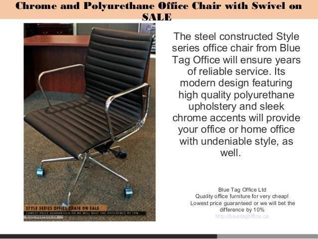 Adjustable Height Chair for Office or Home Office on SALE in Canada