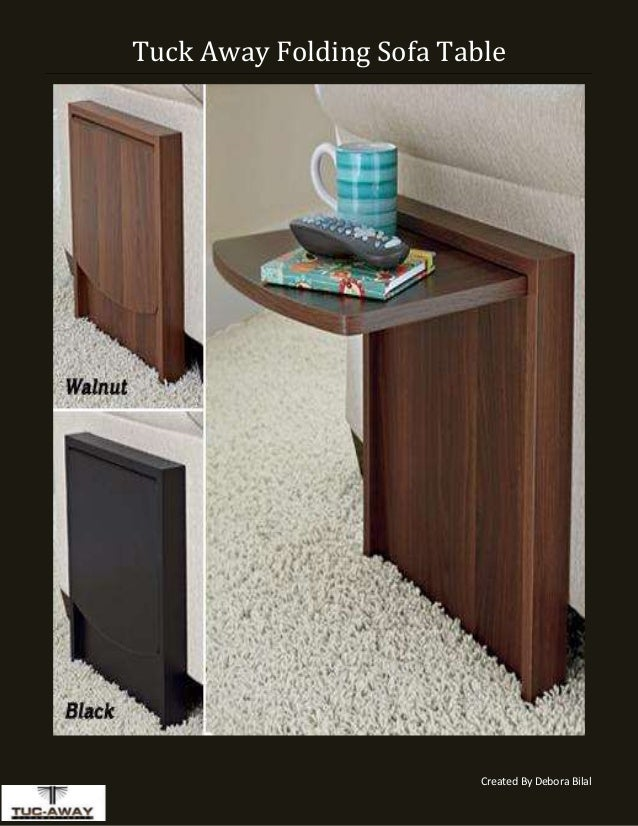 Adjustable Small End Table