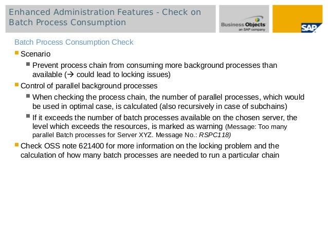 BW Adjusting settings and monitoring data loads