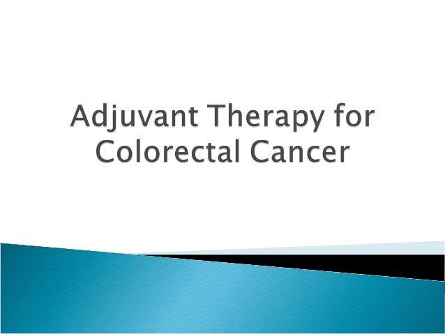 Colorectal Cancer Adjuvant Rx Nicola Tanner