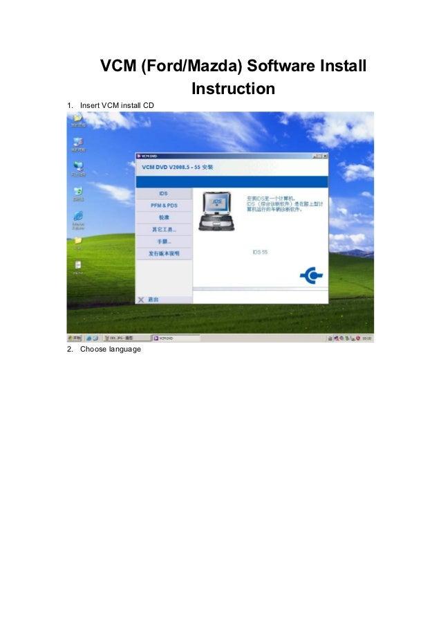 Autodiagnosticobd Vcm Ids Installation Instructions From Julie