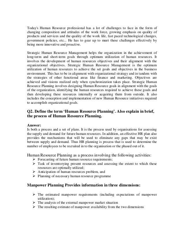 Proactive Human Resource Resume. Hr Resume Examples Human Resource .