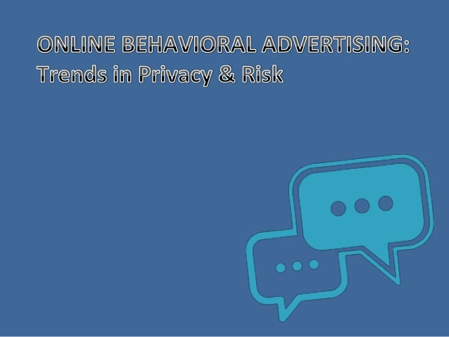what is online behavioral advertising? overview