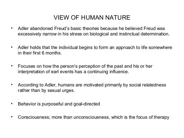 Freud S View Of Human Nature Is