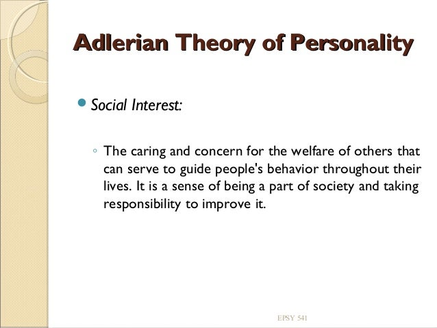 adler theory Adlerian theory summary alfred adler is the namesake and creator of the adlerian therapy approach to psychotherapy, an approach that is both holistic and goal-oriented.