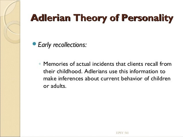 Adlerian Theory Literature Review&nbspEssay