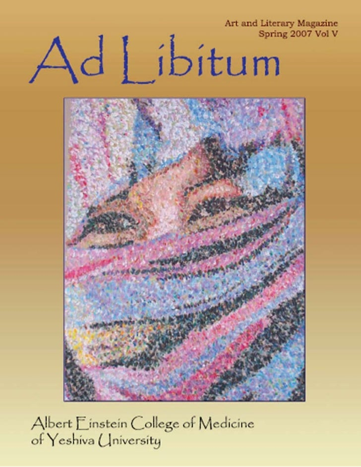 Letter from the DeanHaving enjoyed the last issue of Ad Libitum (the first Ive had the opportunity to read), I look forwar...