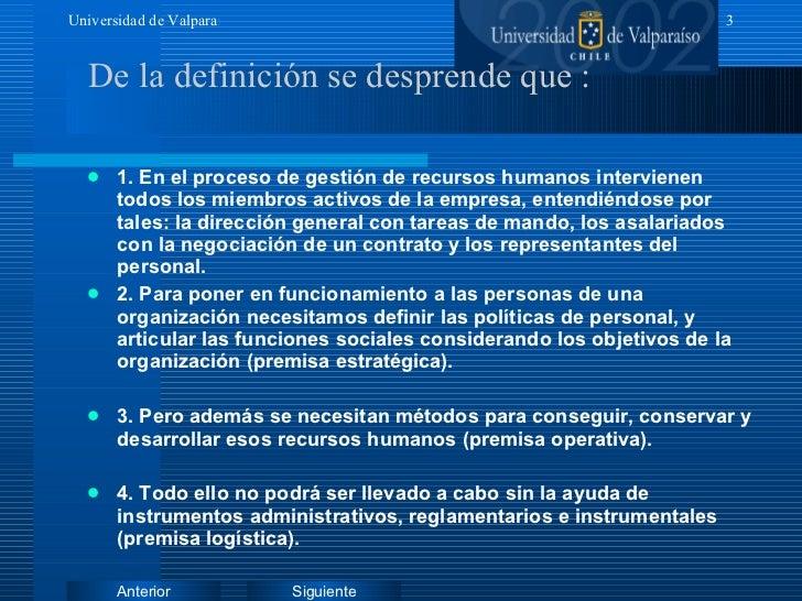 <ul><li>1. En el proceso de gestión de recursos humanos intervienen todos los miembros activos de la empresa, entendiéndos...