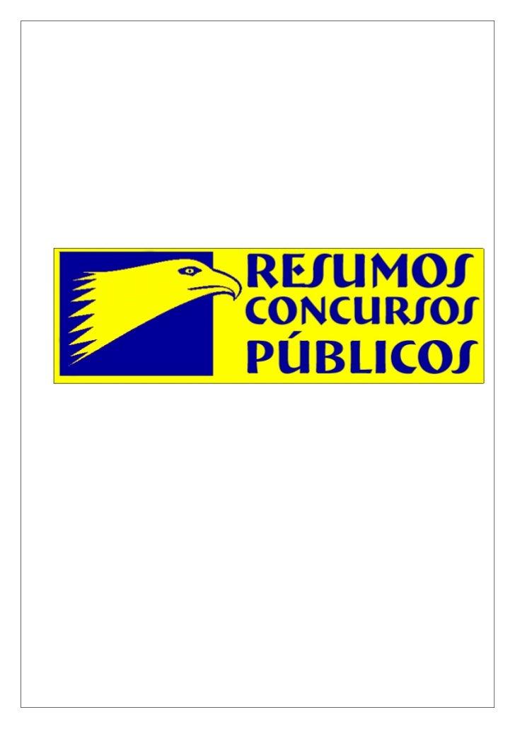 www.ResumosConcursos.hpg.com.br     Resumo: Controle da Administração Pública   – por   Moacir Souza Filho                ...