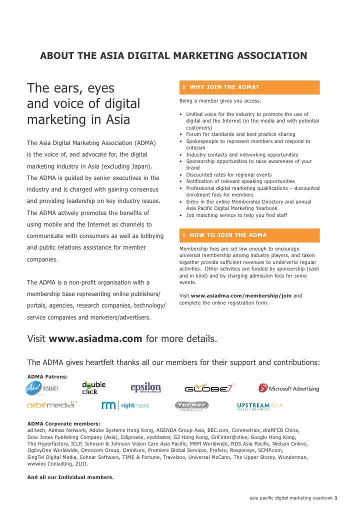 Adma digital-marketing-yearbook-2009 Slide 3