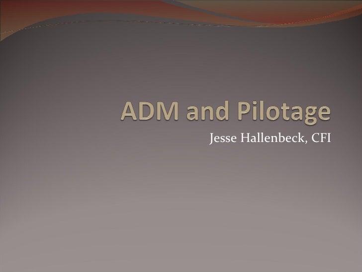 Jesse Hallenbeck, CFI