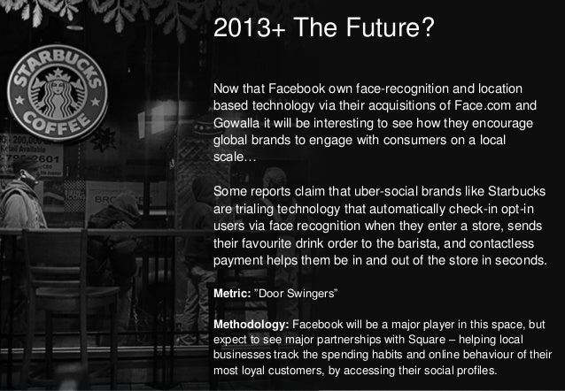 2013+ The Future?                                                                              Now that Facebook own face-...