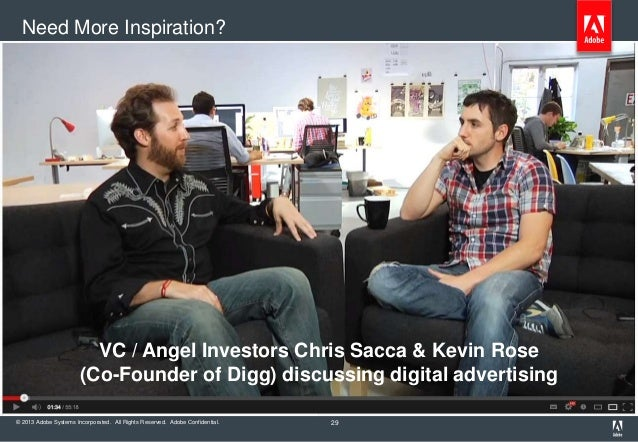 Need More Inspiration?                         VC / Angel Investors Chris Sacca & Kevin Rose                       (Co-Fou...