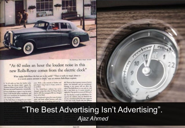 """""""The Best Advertising Isn't Advertising"""".© 2013 Adobe Systems Incorporated. All Rights Reserved. Adobe Confidential.      ..."""
