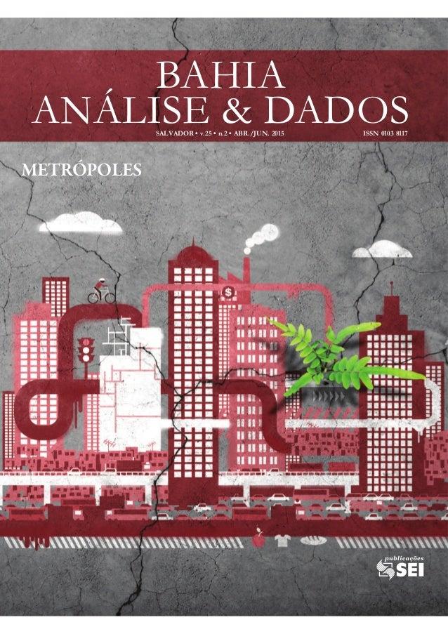 BAHIA ANÁLISE & DADOS METRÓPOLES