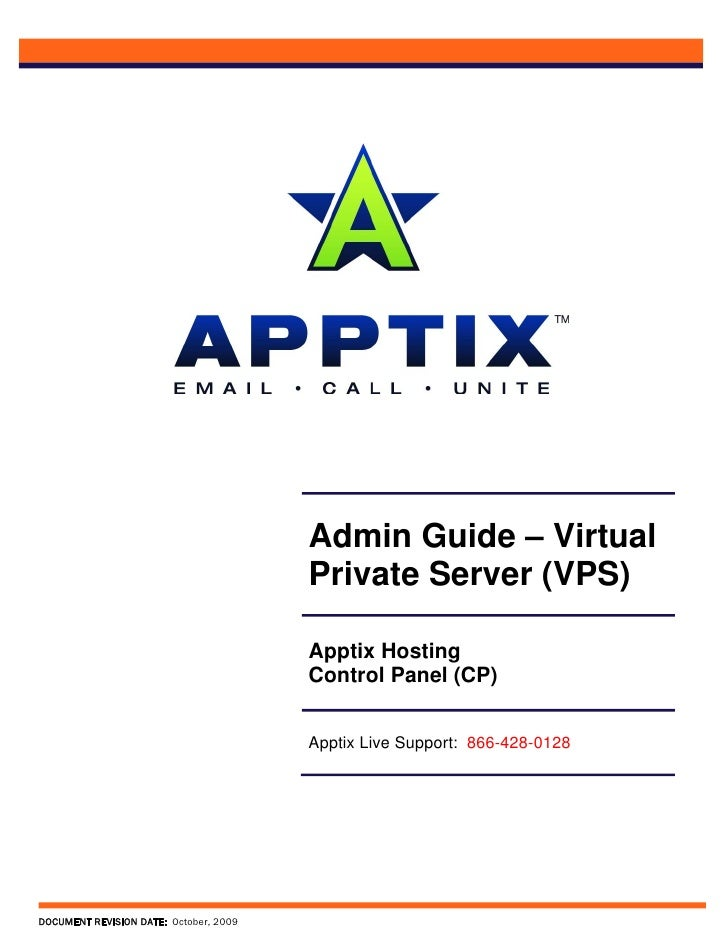 Admin Guide – Virtual                                         Private Server (VPS)                                        ...