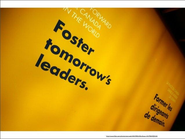 Leadership. Not Followship http://www.flickr.com/photos/cstmweb/4343905530/in/faves-14579369@N04/