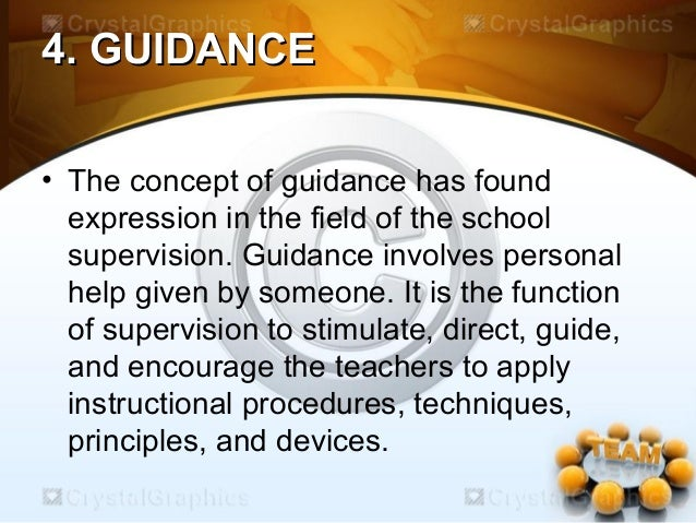 principles of instructional supervision