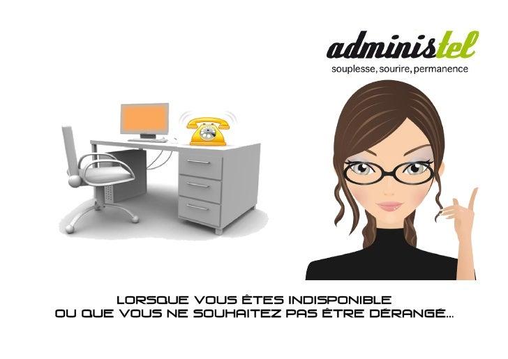 1 rue Charles Dullin - 73100 Aix les Bains                                Courriel: contact@administel.com                ...
