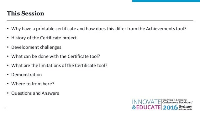 ... 3. This Session U2022 Why Have A Printable Certificate ...  Printable Certificates Of Completion
