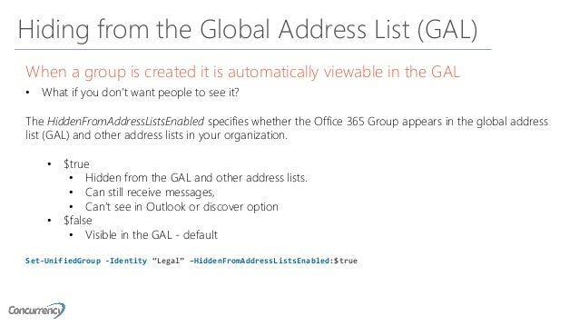 Administering and Managing Office 365 Groups - SharePoint