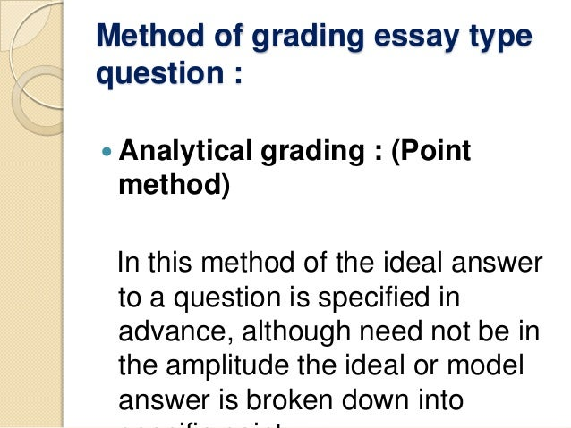 meaning of essay type test A composition that is usually short and has a literary theme is called an essay type of: piece of writing test something under the conditions under which it.