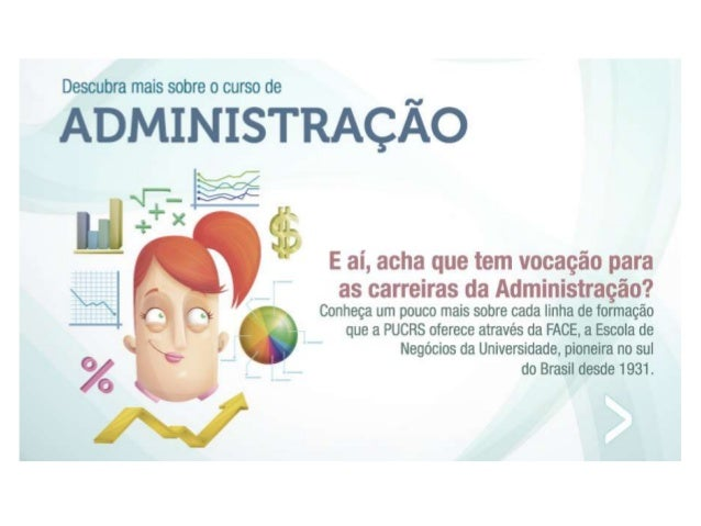 Administração - Descubra o que é ser PUCRS