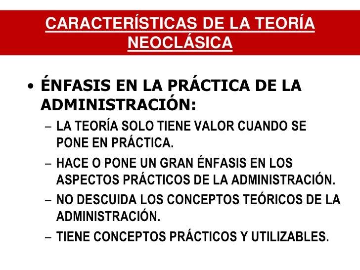 administraci n 10ma enfoque neoclasico