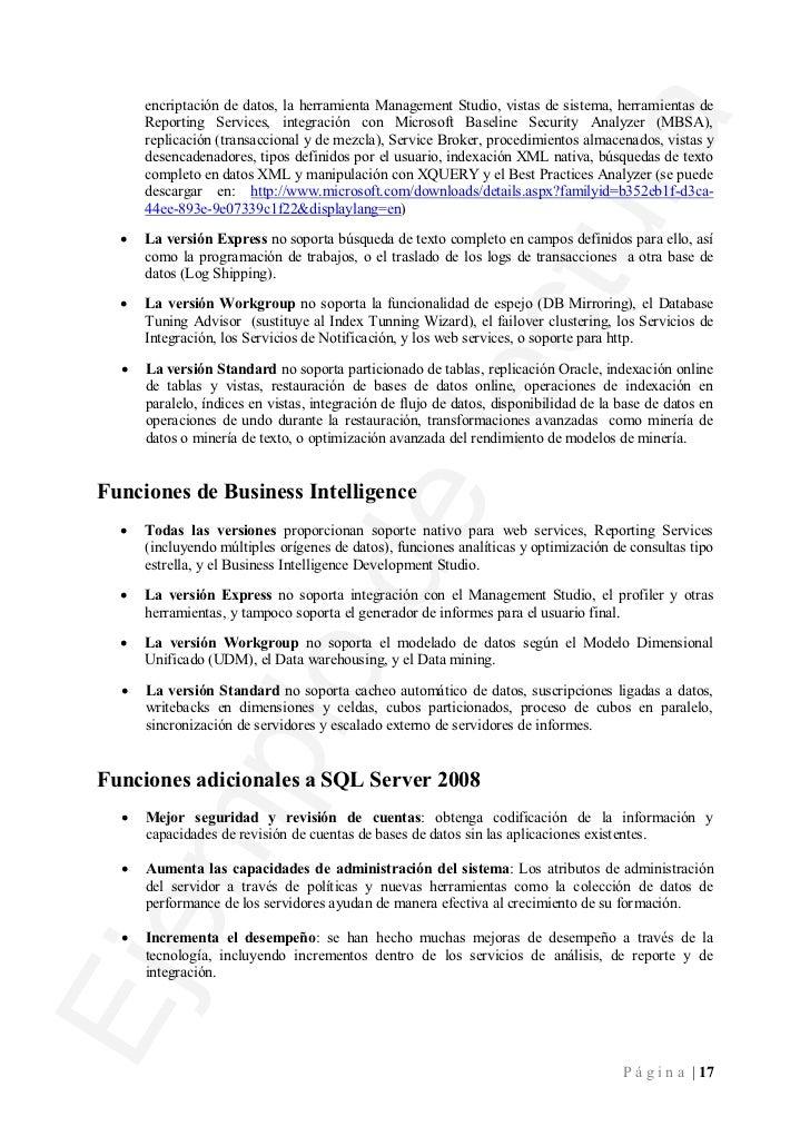 ·   Respuesta de sistema predictiva: Nuevos atributos como la gestión de consultas y la        compresión de información, ...