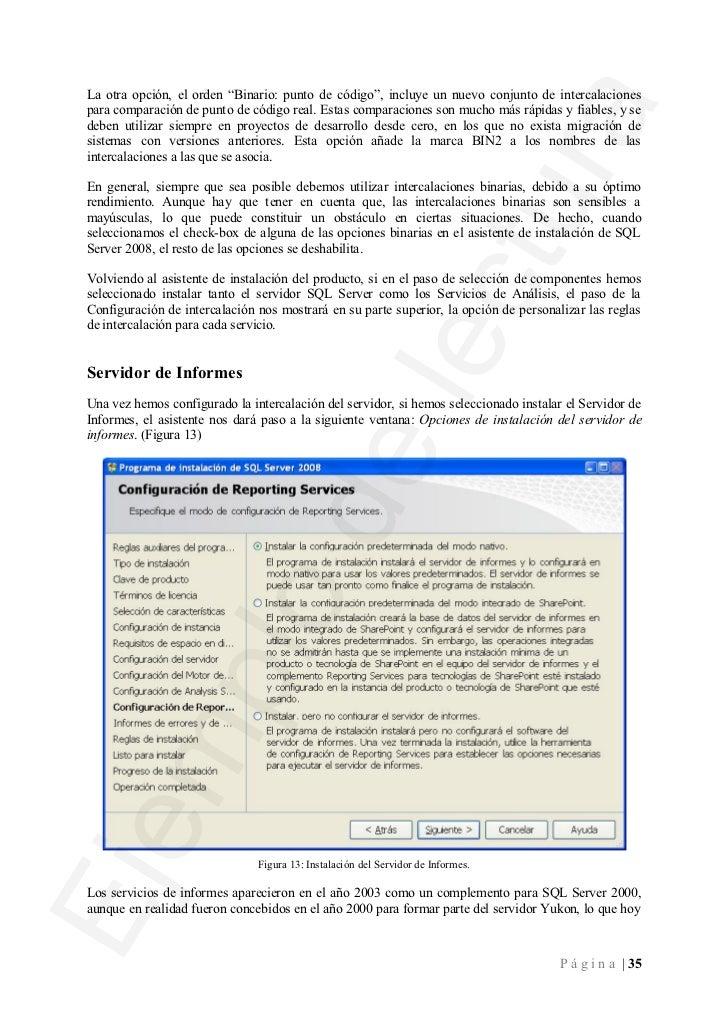 Administración de bases de datos con sql server 2008 (ejemplo)