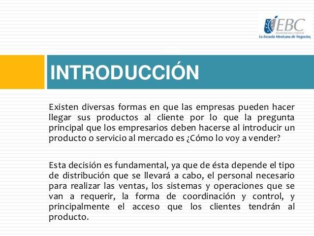 Administración de canales de venta Slide 2