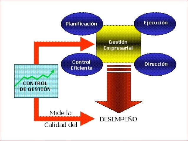SEGUIMIENTO Y CONTROL DE EVALUCIÓN DE RESULTADO. • ADMINISTRACION P…