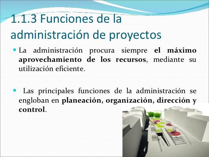 Administraci n de proyectos 1 unidad for Administracion de proyectos