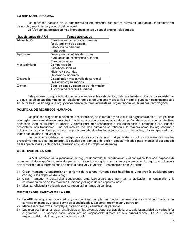Administración De Rh Idalberto Chiavenato