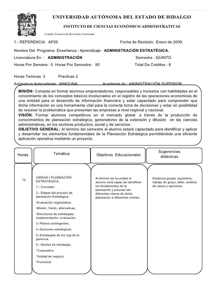 UNIVERSIDAD AUTÓNOMA DEL ESTADO DE HIDALGO                                INSTITUTO DE CIENCIAS ECONÓMICO ADMINISTRATIVAS ...
