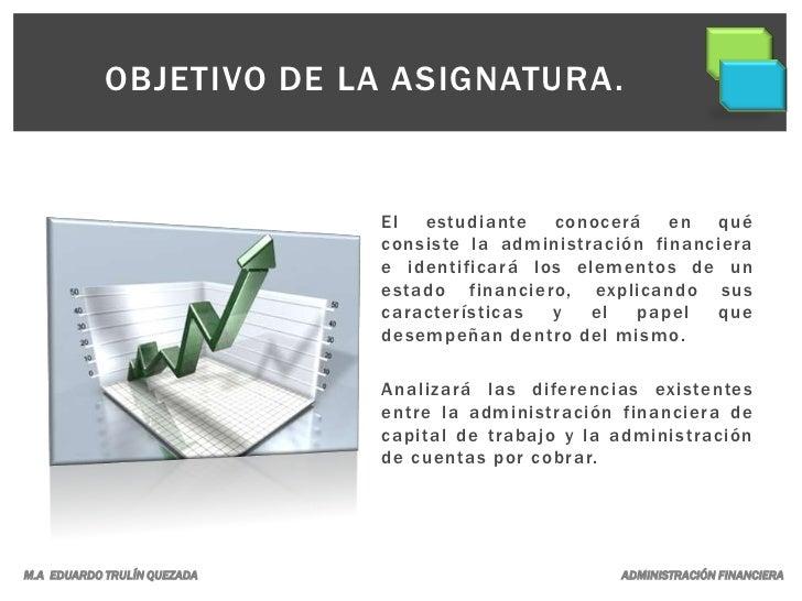 Administración financiera. Slide 2