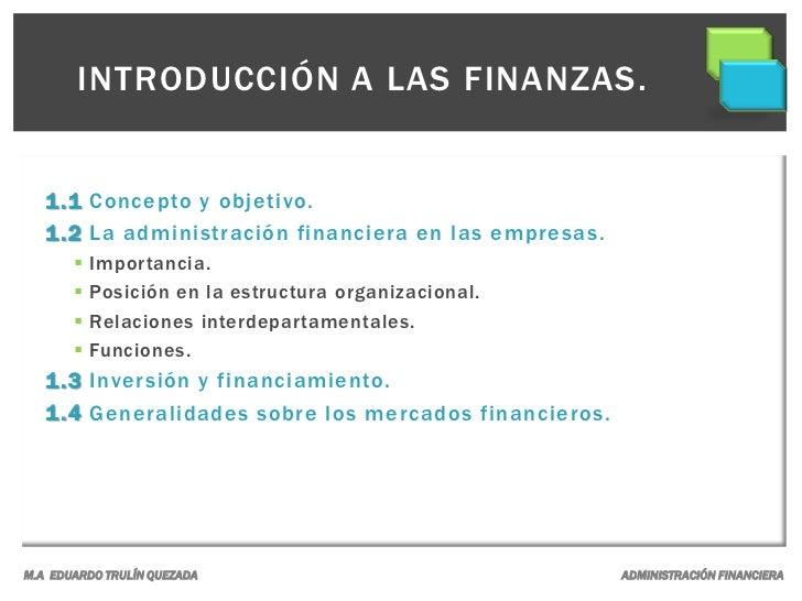 Administración financiera. Slide 3