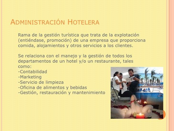 T U00e9cnicas De Administraci U00f3n Hotelera