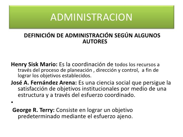 Administracion for Nociones basicas de oficina concepto