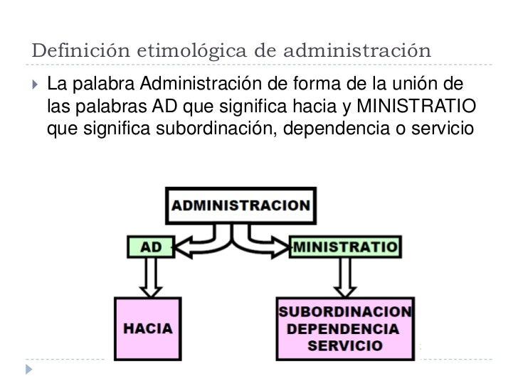 Administracion c1 for Que significa oficina