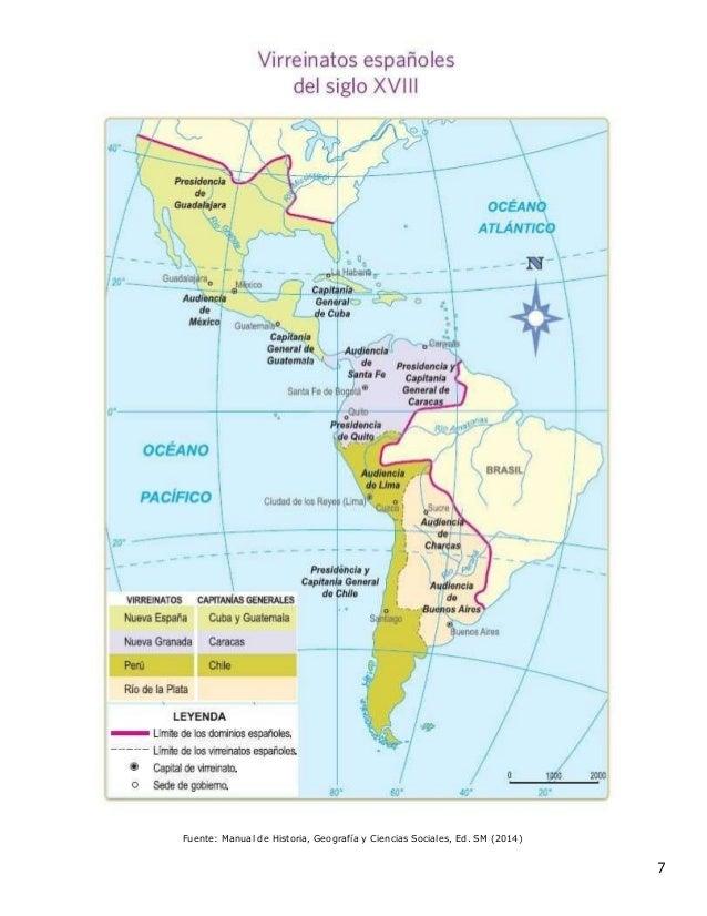 Fuente: Manual de Historia, Geografía y Ciencias Sociales, Ed. SM (2014) 7