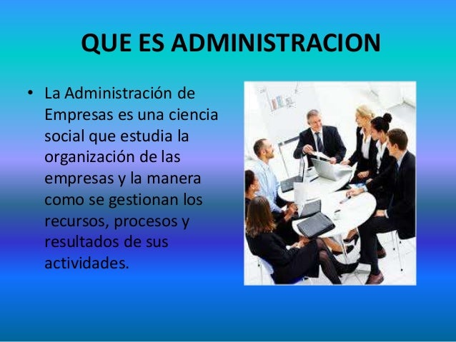 Administracion de empresas for Que es practica de oficina