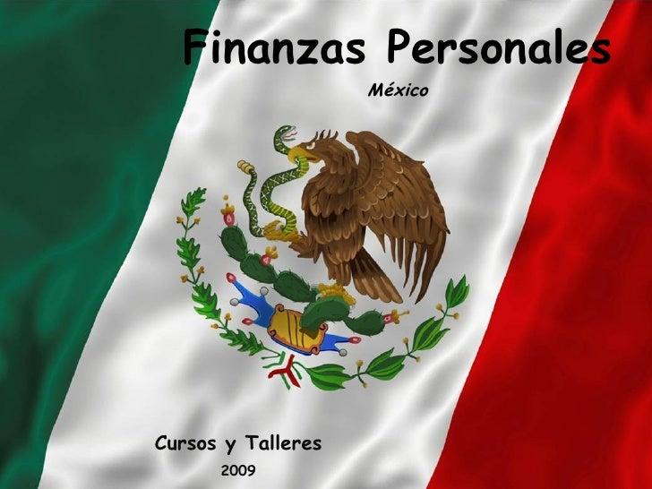 Finanzas Personales México Cursos y Talleres 2009