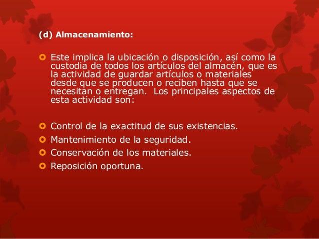 la Planeación y Administración del Aprovisionamiento comprende la preparación de un plan de trabajo administrativo y técni...