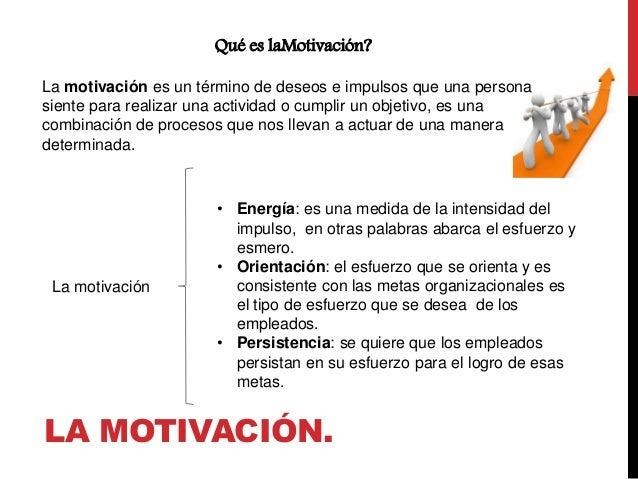 Administracion De La Motivacion