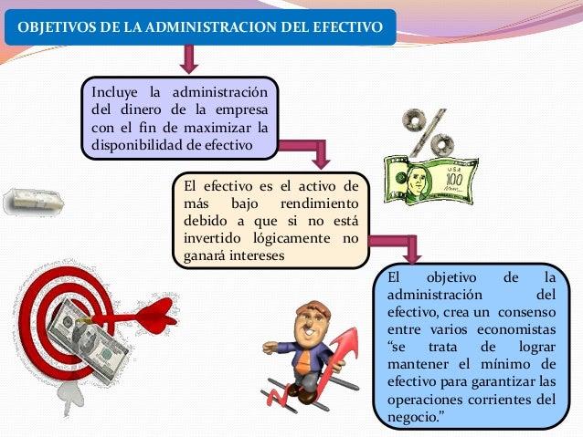 Administracion del efectivo for Importancia de la oficina